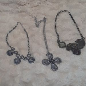 BUNDLE of Three STATEMENT Necklaces
